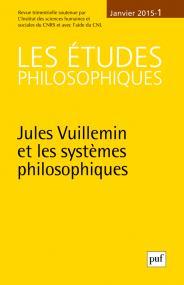 études philosophiques 2015, n° 1