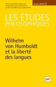 études philosophiques 2015, n° 2