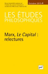 études philosophiques 2015, n° 4