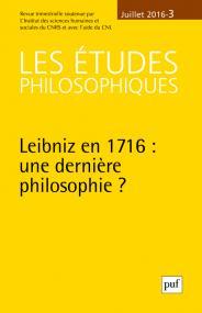 études philosophiques 2016, n° 3