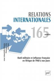 Relations internationales 2016, n° 165
