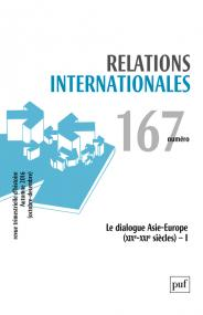 Relations internationales 2016, n° 167