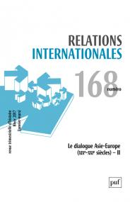 Relations internationales 2016, n° 168