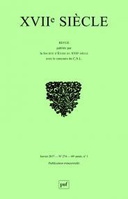 XVIIe siècle 2017, n° 274