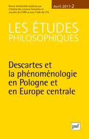 études philosophiques 2017, n° 2