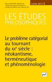 études philosophiques 2017, n° 3
