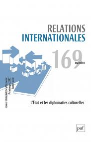Relations internationales 2017, n° 169