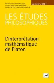 études philosophiques 2018, n° 1