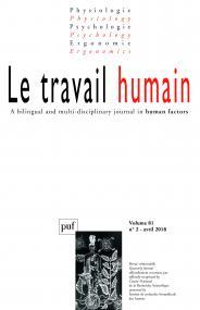 travail humain 2018, vol. 81 (2)
