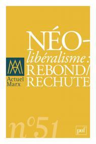 Actuel Marx 2012, n° 51