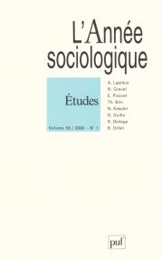 année sociologique 2000, vol. 50 (1)
