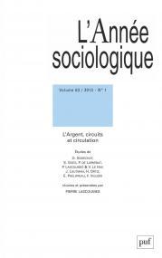 année sociologique 2013, vol. 63 (1)