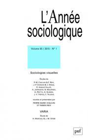 année sociologique 2015, vol. 65 (1)