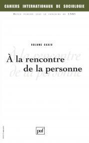 Cahiers intern. de sociologie 2008, vol. 124