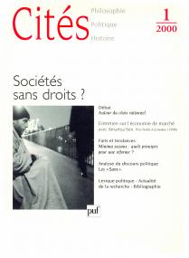 Cités 2000, n° 01