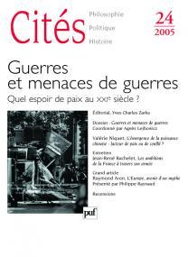 Cités 2005, n° 24