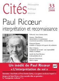 Cités 2008, n° 33