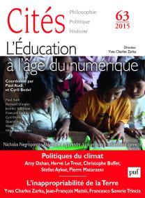 Cités 2015, n° 63