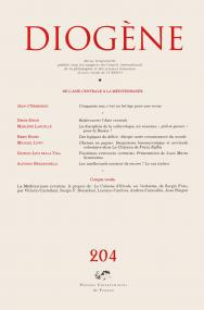 Diogène 2003, n° 204