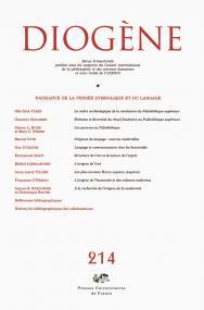 Diogene 2006, n° 214