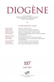 Diogène 2009, n° 227