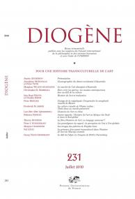 Diogène 2010, n° 231