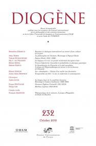 Diogène 2010, n° 232