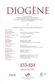 Diogène 2011, n° 233-234