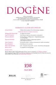 Diogène 2012, n° 238