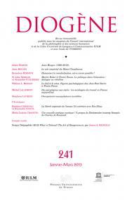 Diogène 2013, n° 241