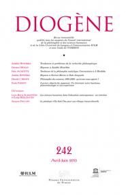 Diogène 2013, n° 242