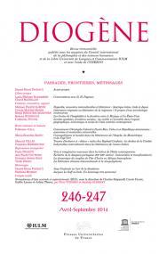 Diogène 2014, n° 246-247