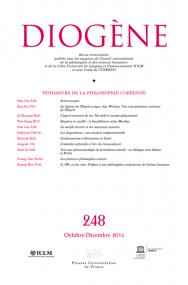 Diogène 2014, n° 248