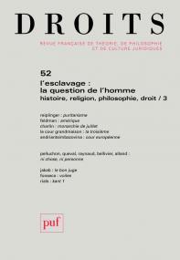 Droits 2010, n° 52