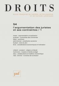 Droits 2011, n° 54