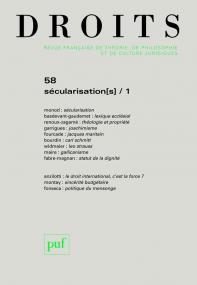 Droits 2013, n° 58