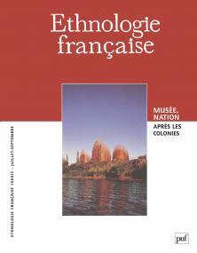Ethnologie française 1999, n° 3