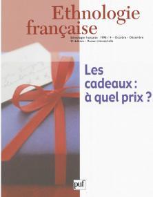 Éthnologie française 1998 - n° 4