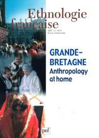 Ethnologie française 2007, n° 2