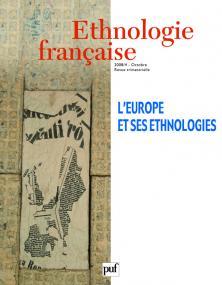 Ethnologie française 2008, n° 4