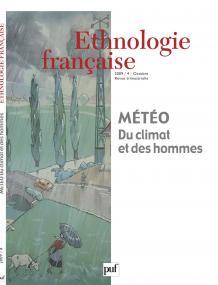 Ethnologie française 2009, n° 4