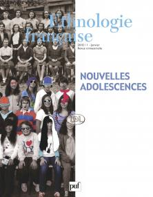 Ethnologie française 2010, n° 1