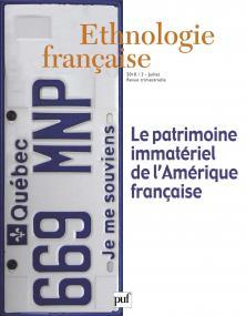 Ethnologie française 2010, n° 3