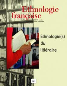 Ethnologie française 2014, n° 4
