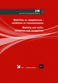 Journal of International Mobility 2016, vol. 4