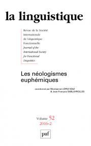 linguistique 2016, vol. 52 (2)