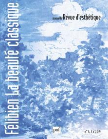 Nouvelle revue d'esthétique 2009, n° 4