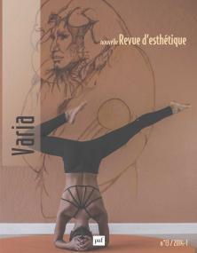 Nouvelle revue d'esthétique 2014, n° 13