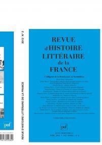 RHLF 2012, n° 2