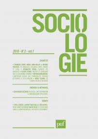 Sociologie 2010, n° 2